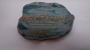 Organic-Matt-Blue-Plate.Textured-Detail._109-Ceramics_Treniq_0