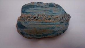 Organic-Matt-Blue-Plate.Textured-Detail._109-Ceramics_Treniq_0