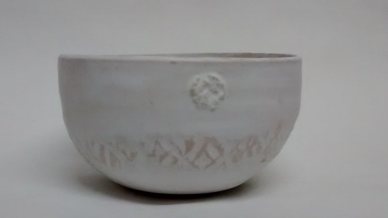 Cereal bowl simply white with textured detail. 109 ceramics treniq 1 1516750170767