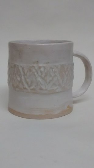Simply matt white textured cup 109 ceramics treniq 1 1516750590442