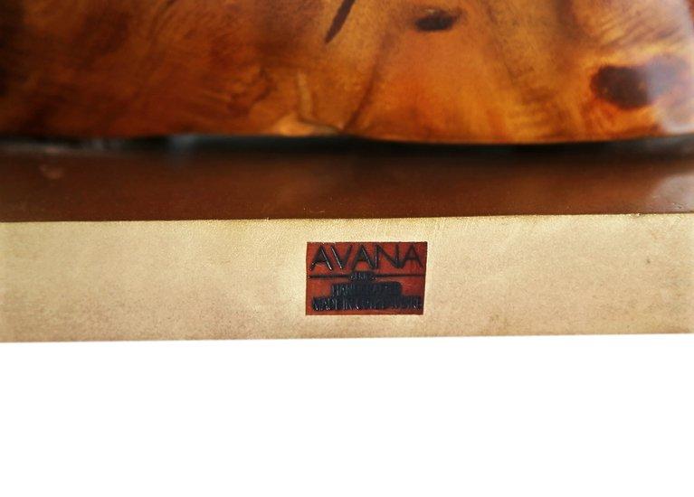 Bronze double head rhino lamp avana africa treniq 1 1516795646665