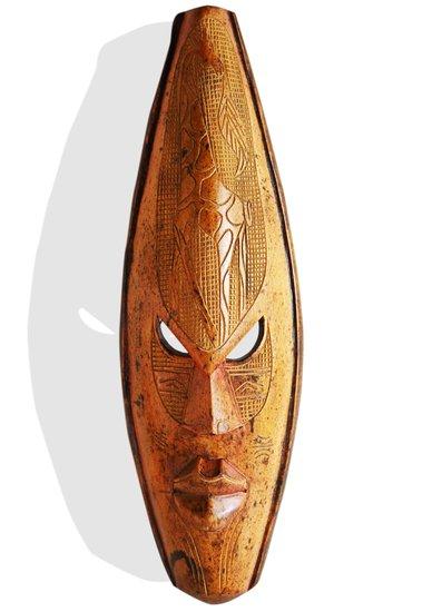 Yellow mask with giraffe avana africa treniq 1 1516871418381