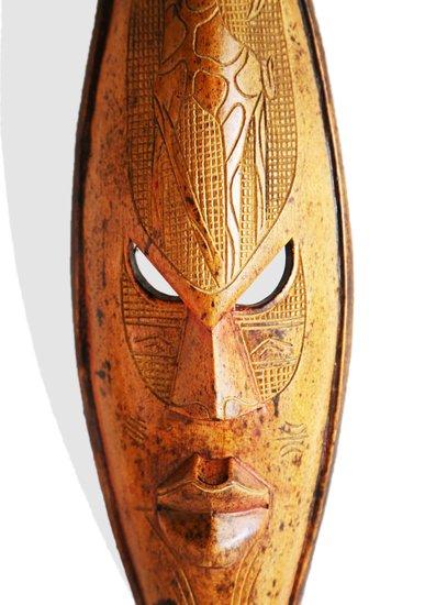Yellow mask with giraffe avana africa treniq 1 1516871418384