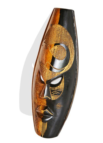 Black yellow elephant mask avana africa treniq 1 1516871580949