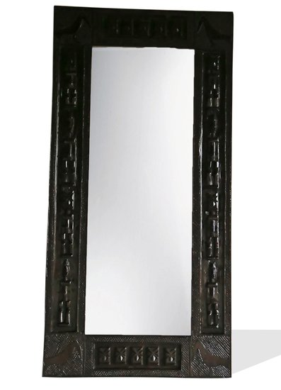 Dogon mirror frame   medium dark avana africa treniq 1 1516877084884