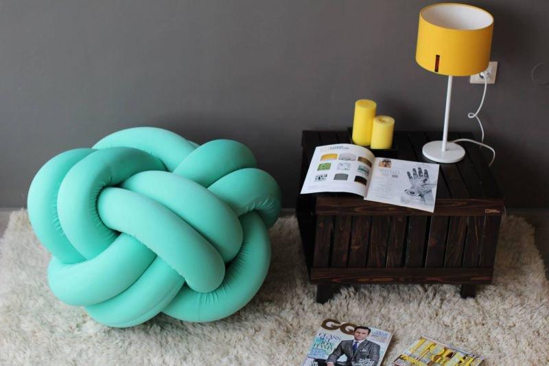Knot pouf flexy mint studio zappriani treniq 1 1516892902510