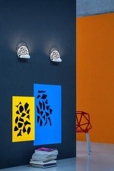 Kelly wall lamp matt white 9010  studio italia design treniq 1 1516893328484
