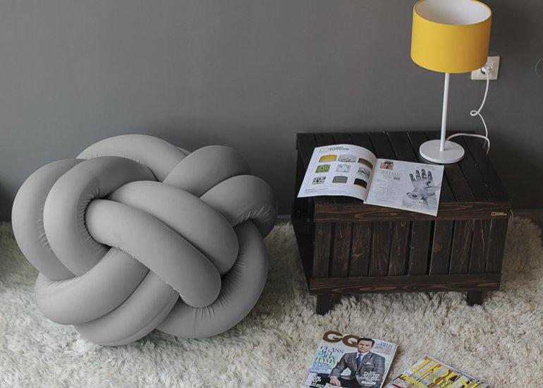 Knot pouf flexy grey studio zappriani treniq 1 1516893961018
