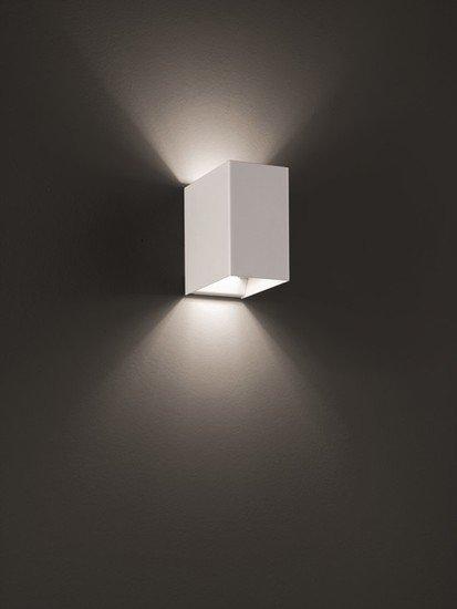 Laser cube 10x6 wall lamp matt white 9010 (3000k) studio italia design treniq 1 1516895596443