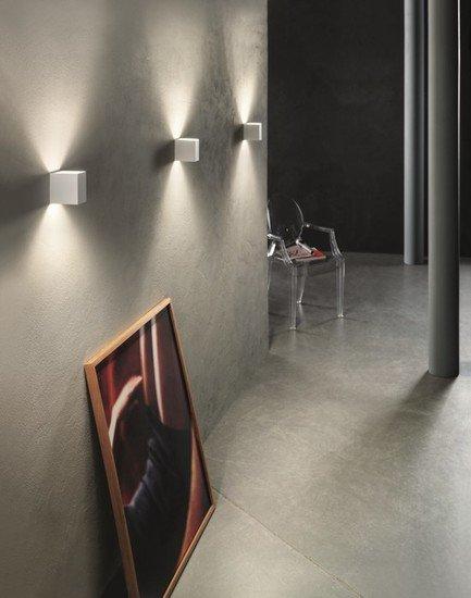 Laser cube 10x6 wall lamp matt white 9010 (3000k) studio italia design treniq 1 1516895599666