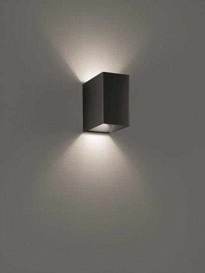 Laser cube 10x6 wall lamp matt black (3000k) studio italia design treniq 1 1516895698470