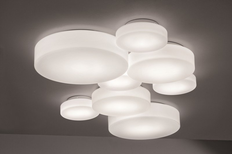 Ceiling lamp matt white studio italia design treniq 1 1516896866167