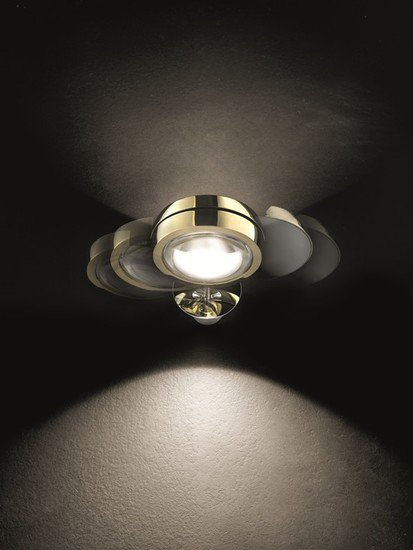 Nautilus wall lamp gold (2700k) studio italia design treniq 1 1516899158352