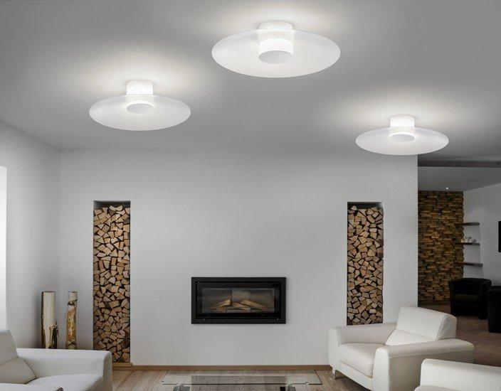 Thor medium ceiling lamp glossy milk white studio italia design treniq 1 1516900580453