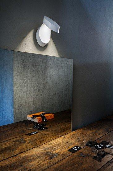 Pin up wall lamp matt white 9010 (2700k) studio italia design treniq 1 1516956962130