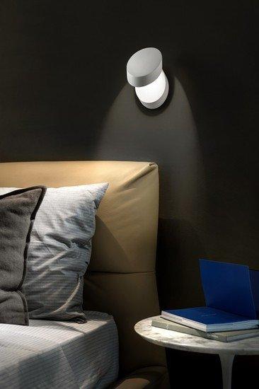 Pin up wall lamp matt white 9010 (2700k) studio italia design treniq 1 1516956964718