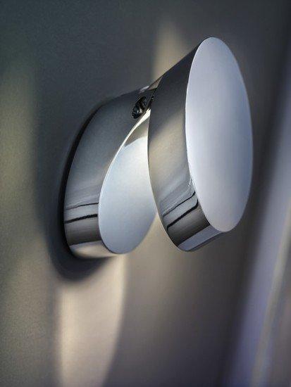 Pin up wall lamp chrome (3000k) studio italia design treniq 1 1516958382476