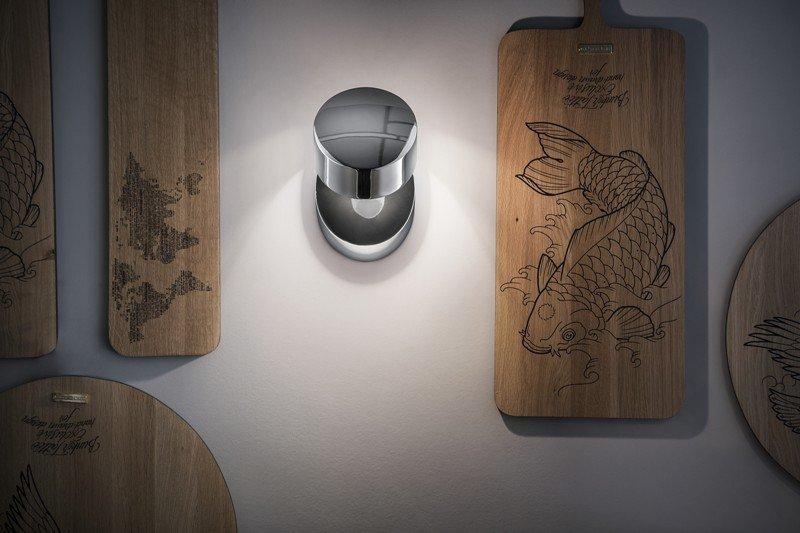 Pin up wall lamp chrome (3000k) studio italia design treniq 1 1516958391070