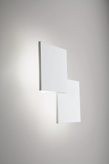 Puzzle square double wall lamp matt white (2700k) studio italia design treniq 1 1516963454676