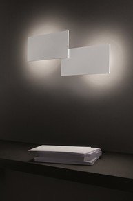 Puzzle-Rectangle-Double-Wall/Ceiling-Lamp-Matt-White-(3000-K)_Studio-Italia-Design_Treniq_0