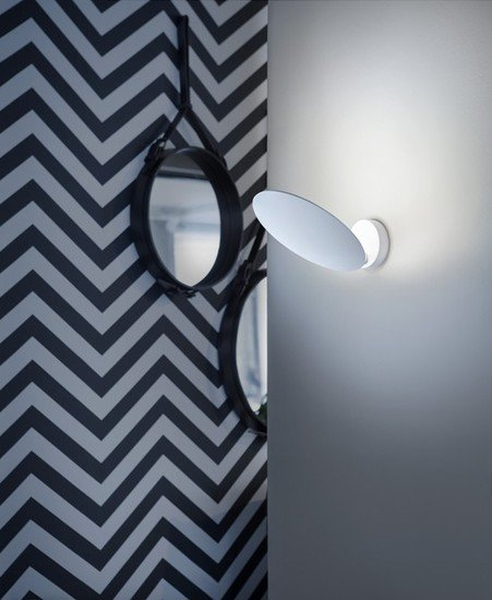 Puzzle round single wall lamp matt white (2700k) studio italia design treniq 1 1516964701824