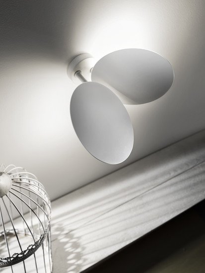 Ceiling lamp matt white (3000k) studio italia design treniq 1 1516965317845