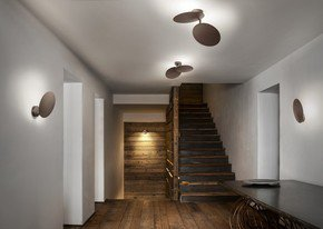 Puzzle-Round-Double-Wall/Ceiling-Lamp-Coppery-Bronze_Studio-Italia-Design_Treniq_0