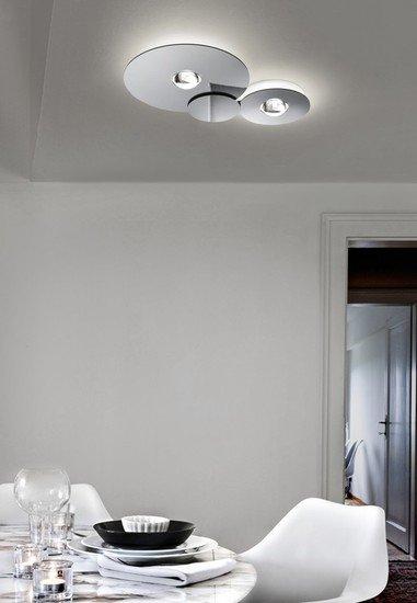 Bugia single ceiling lamp chrome (3000k) studio italia design treniq 1 1516976253118