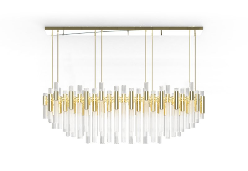 Waterfall chandelier luxxu treniq 1