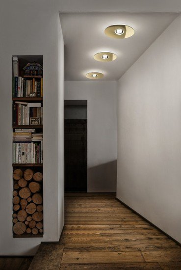 Bugia double ceiling lamp gold (2700k) studio italia design treniq 1 1516976803766