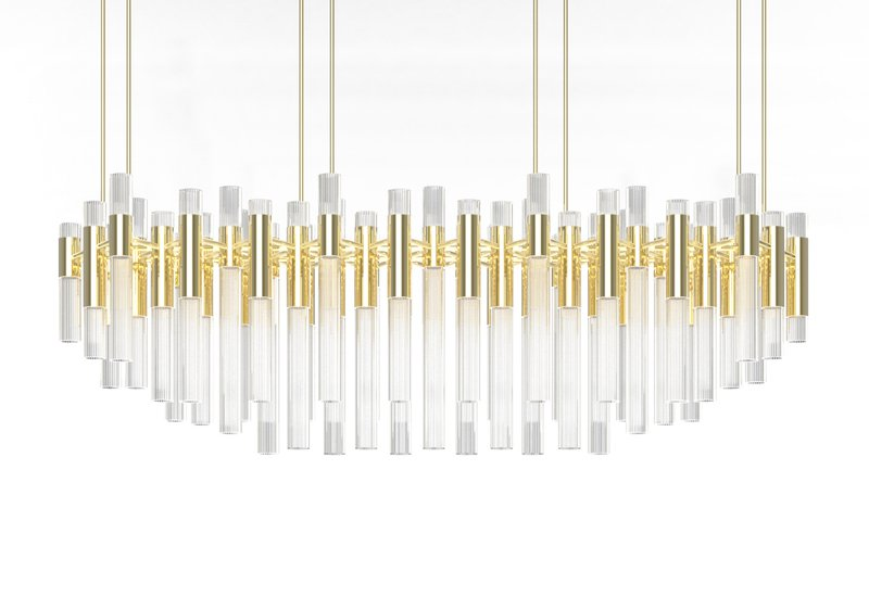 Waterfall chandelier luxxu treniq 2