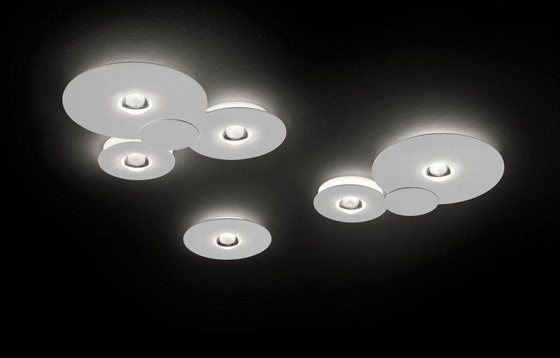 Bugia double ceiling lamp chrome (2700k) studio italia design treniq 1 1516976975559