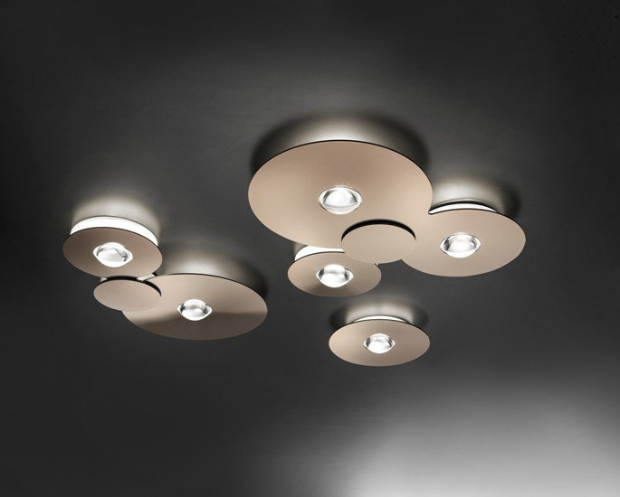 Bugia double ceiling lamp glossy copper (2700k) studio italia design treniq 1 1516977228365