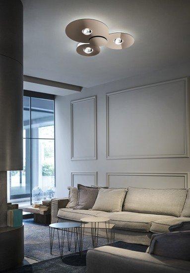Bugia double ceiling lamp glossy copper (3000k) studio italia design treniq 1 1516977356456