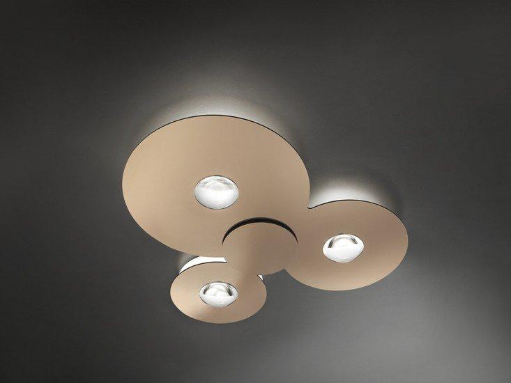 Bugia triple ceiling lamp glossy copper (2700k) studio italia design treniq 1 1516979164433