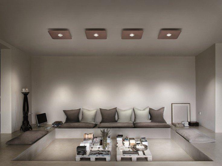 Frozen small ceiling lamp coppery bronze (2700k) studio italia design treniq 1 1517235341105