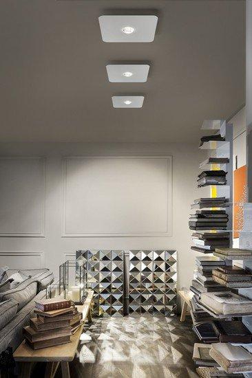Frozen medium ceiling lamp matt white 9010 (2700k) studio italia design treniq 1 1517235985440