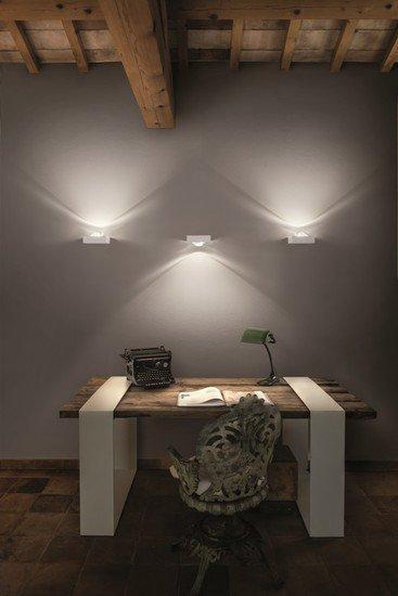 Shelf single wall lamp matt white (2700k) studio italia design treniq 1 1517237491444