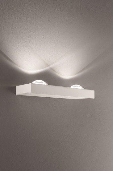 Shelf double wall lamp matt white (2700k) studio italia design treniq 1 1517237567766
