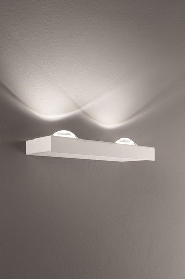 Shelf double wall lamp matt white (3000k) studio italia design treniq 1 1517237642674
