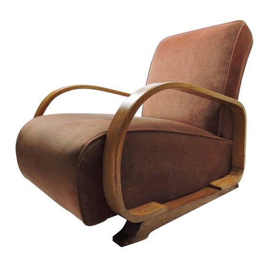 Art deco bentwood armchair danielle underwood treniq 1 1517316638875