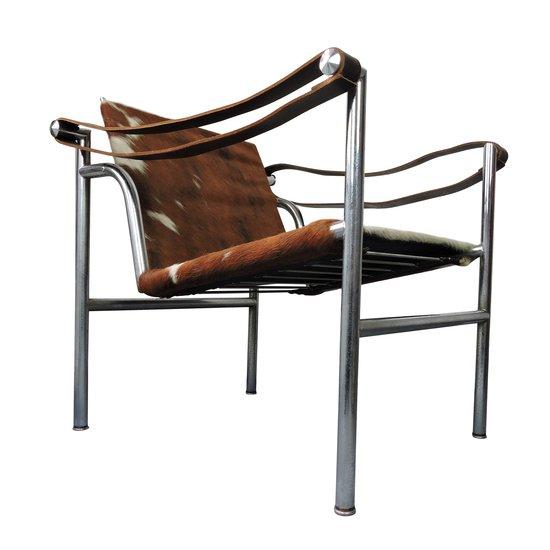 Midcentury le corbusier for cassina italian cow hide chair danielle underwood treniq 1 1517318114128