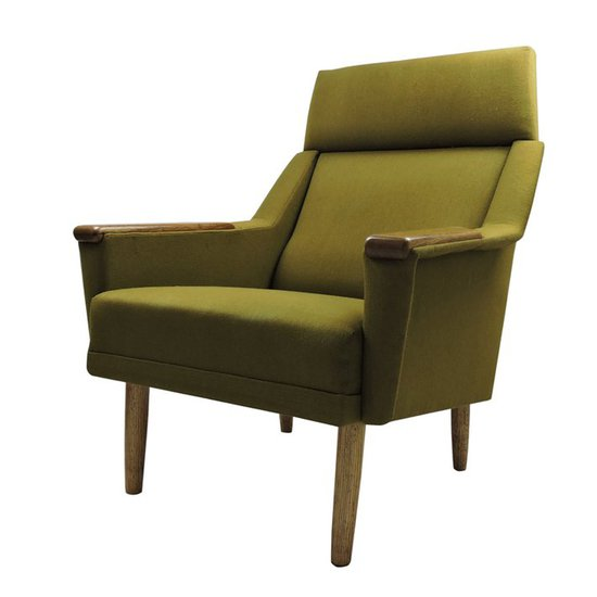 Danish green armchair danielle underwood treniq 1 1517318643308