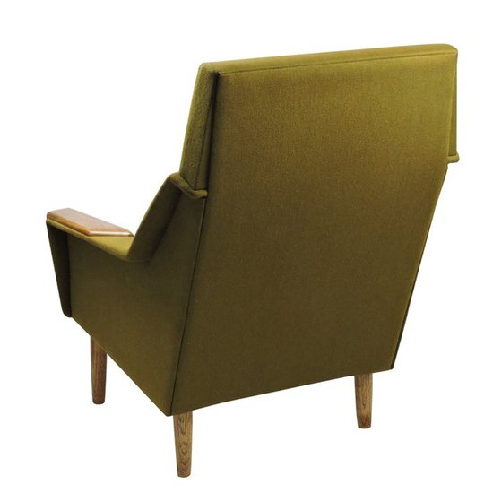 Danish green armchair danielle underwood treniq 1 1517318643304