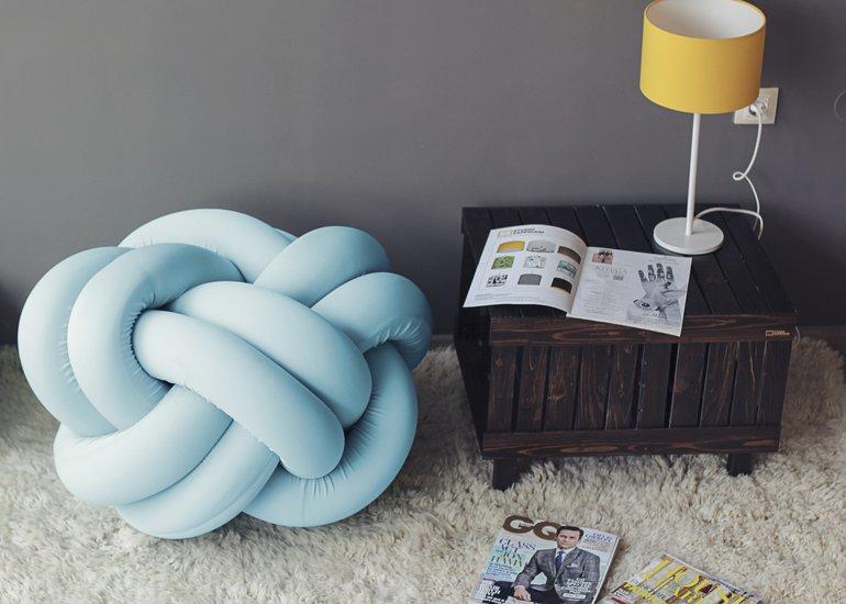 Knot pouf flexy baby blue studio zappriani treniq 1 1517324263325