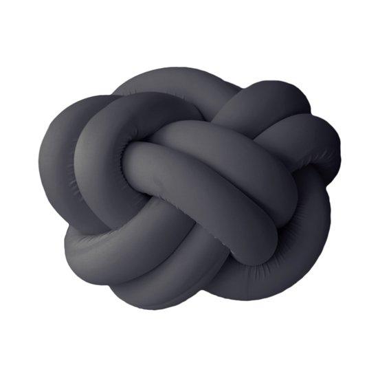 Knot pouf flexy black studio zappriani treniq 1 1517324479785
