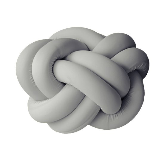 Knot pouf flexy light grey studio zappriani treniq 1 1517324738975