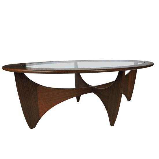 Oval solid teak coffee table danielle underwood treniq 1 1517326278935