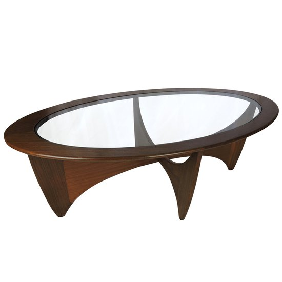 Oval solid teak coffee table danielle underwood treniq 1 1517326291930
