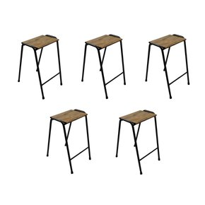 Set-Of-Five-British-Elm-Topped-Science-Lab-Stools_Danielle-Underwood_Treniq_0